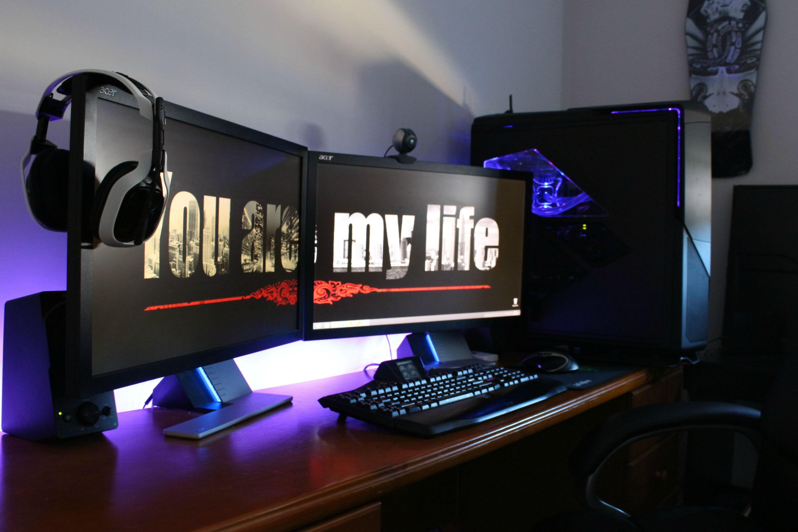 Work Station Computer Setup