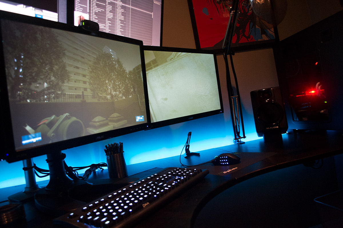 cool computer setups and gaming setups