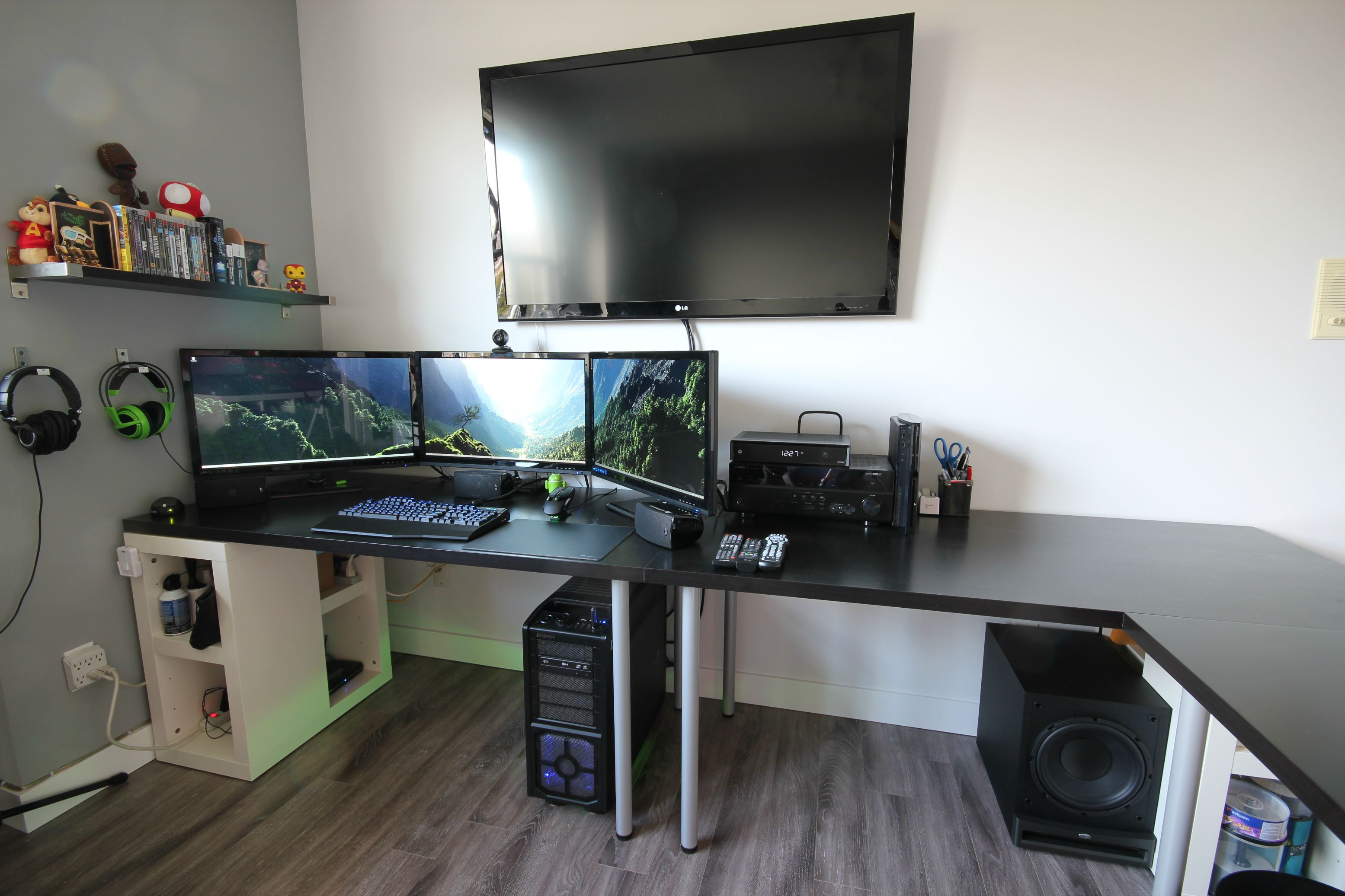Cool puter Setups and Gaming Setups